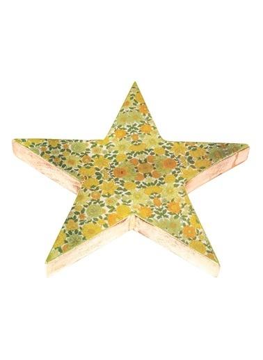 Vitale Dekoratif Yıldız Büyük Boy Yeşil